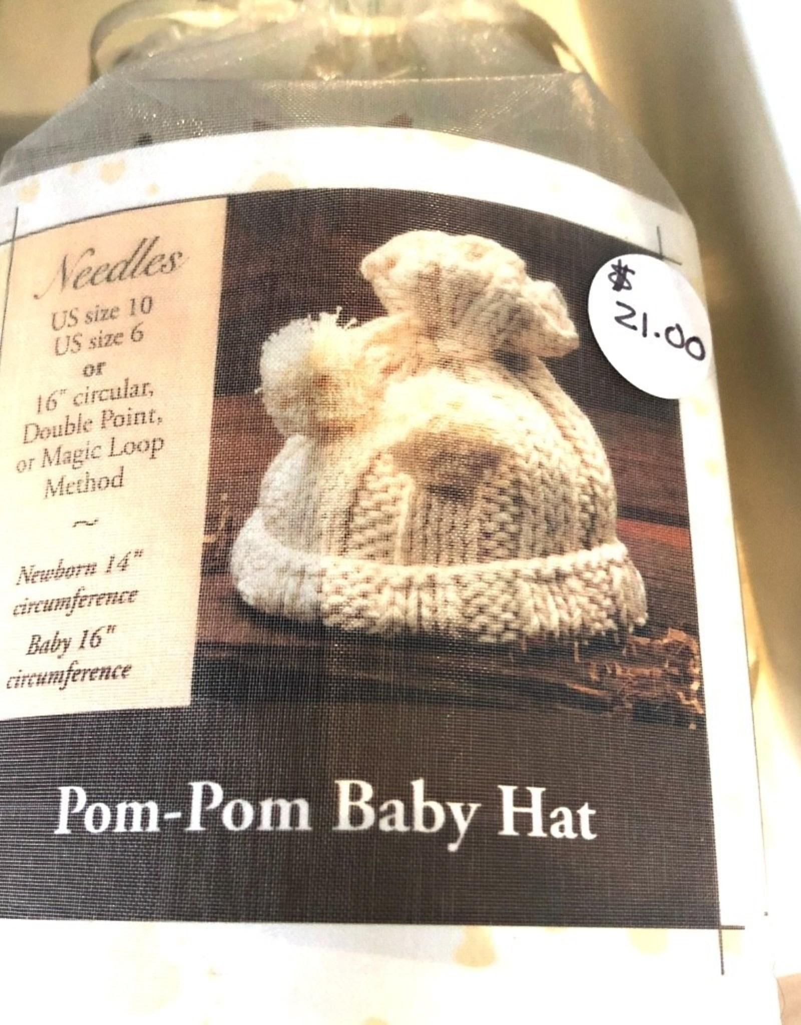Appalachian Baby Design Appalachian Baby Pom-Pom Baby Hat