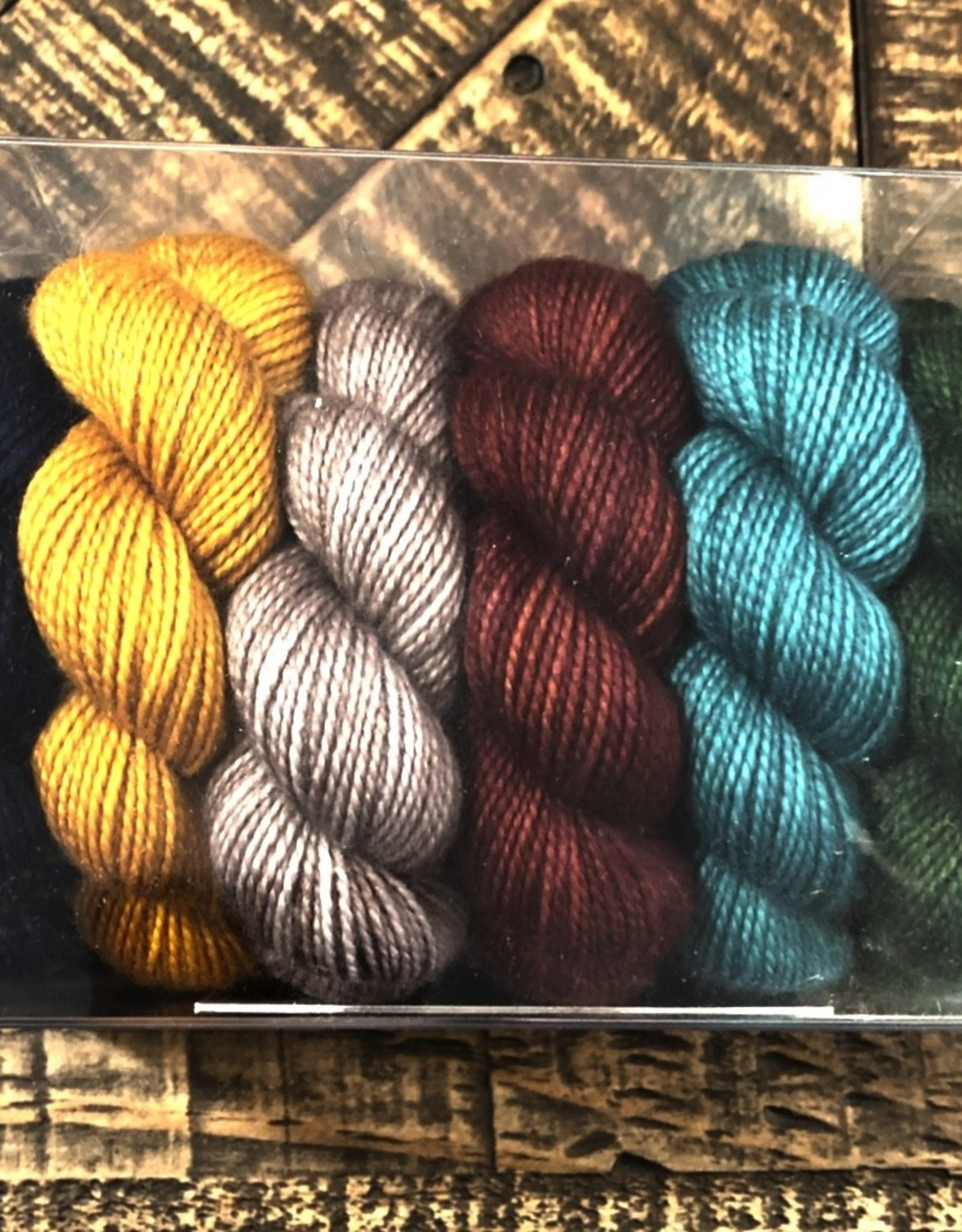 Canon Hand Dyes Canon Hand Dyes - Charles Merino Shawl Kit