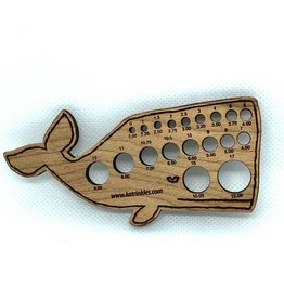 Katrinkles Buttons & Tools Misc Tools - Katrinkles Buttons & Tools - Whale Knitting Needle Gauge