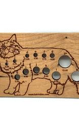 Katrinkles Buttons & Tools Misc Tools - Cat Crochet Hook Gauge