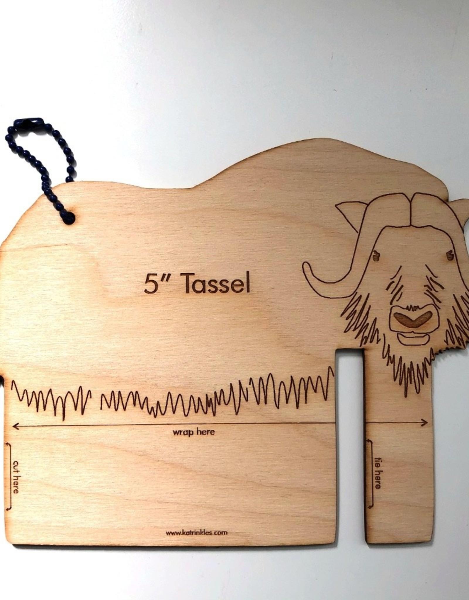 Katrinkles Buttons & Tools Misc Tools - Musk Ox Tassel Maker