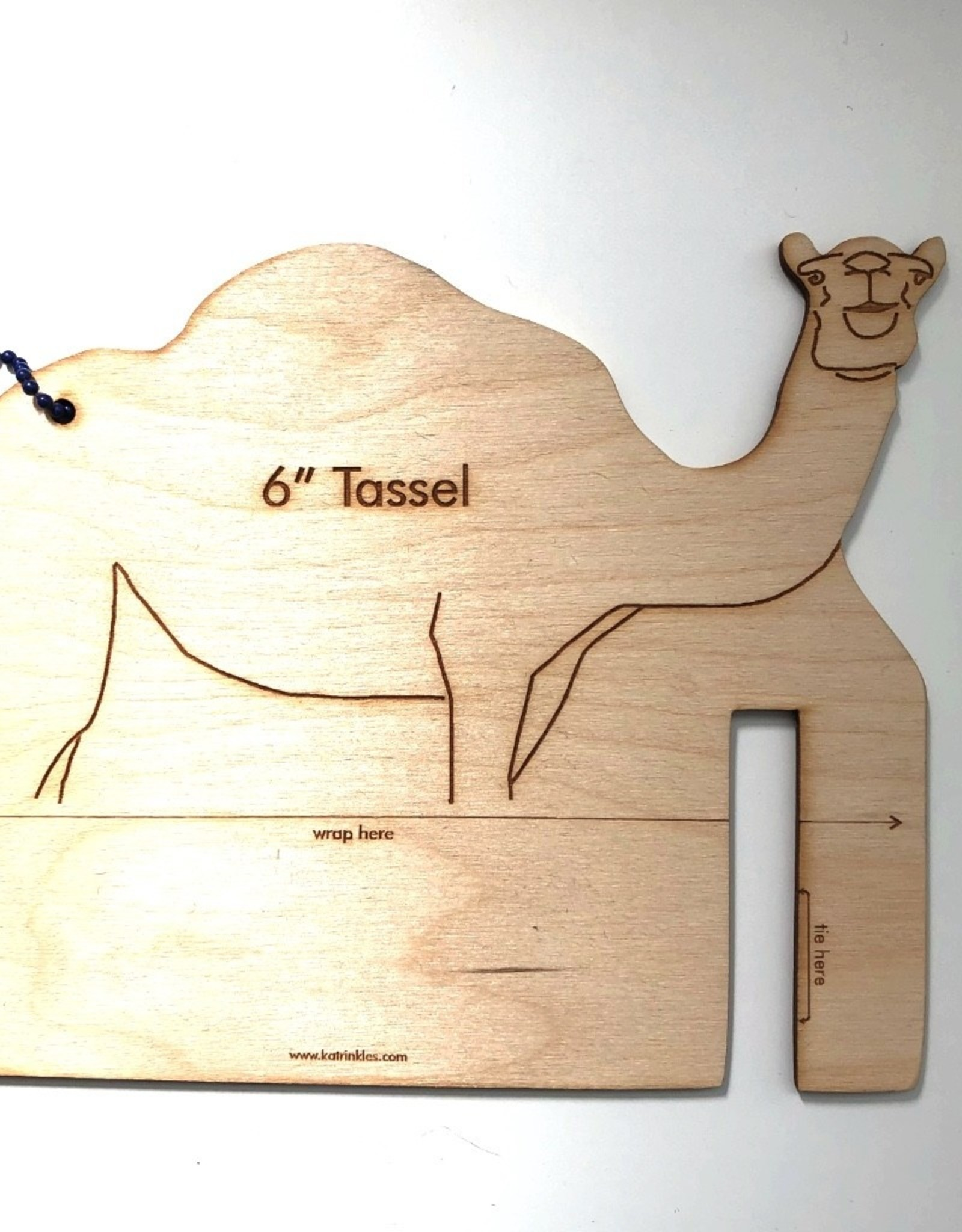 Katrinkles Buttons & Tools Misc Tools - Camel Tassel Maker