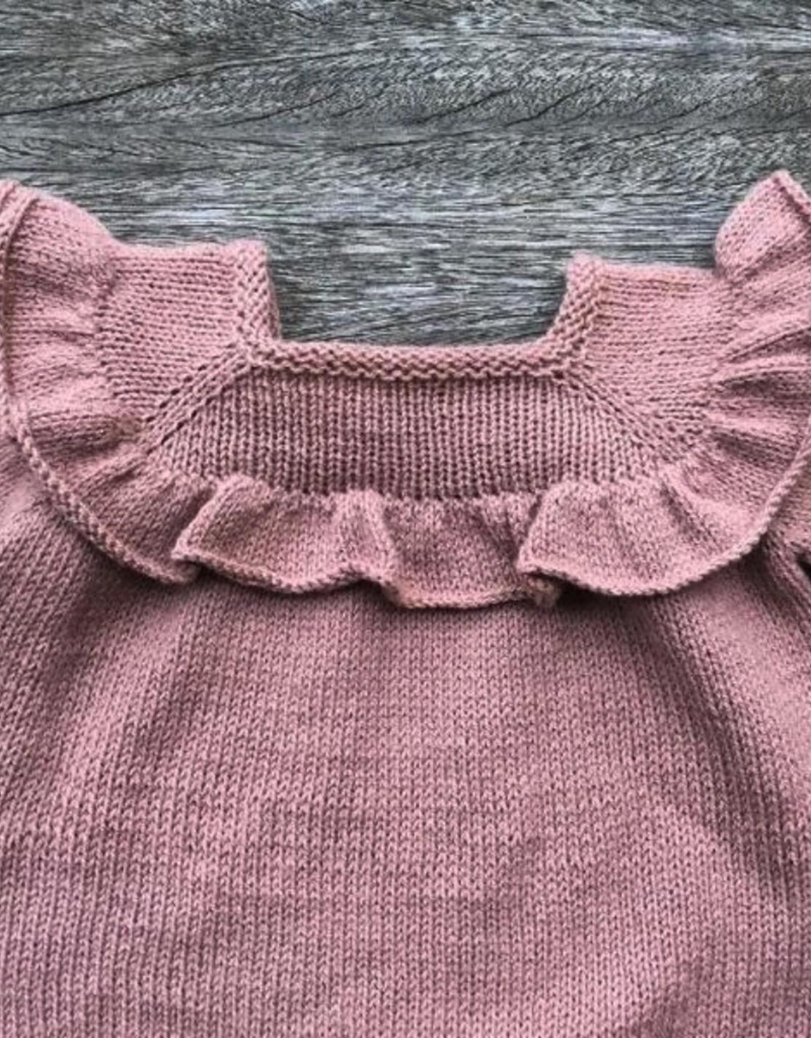 Knitting for Olive Ruffle Romper Pattern