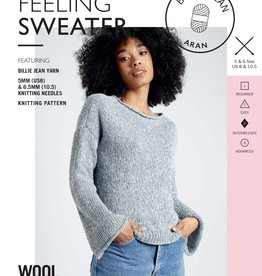 Wool and the Gang Pattern - Wool and the Gang - Crazy Feeling Sweater