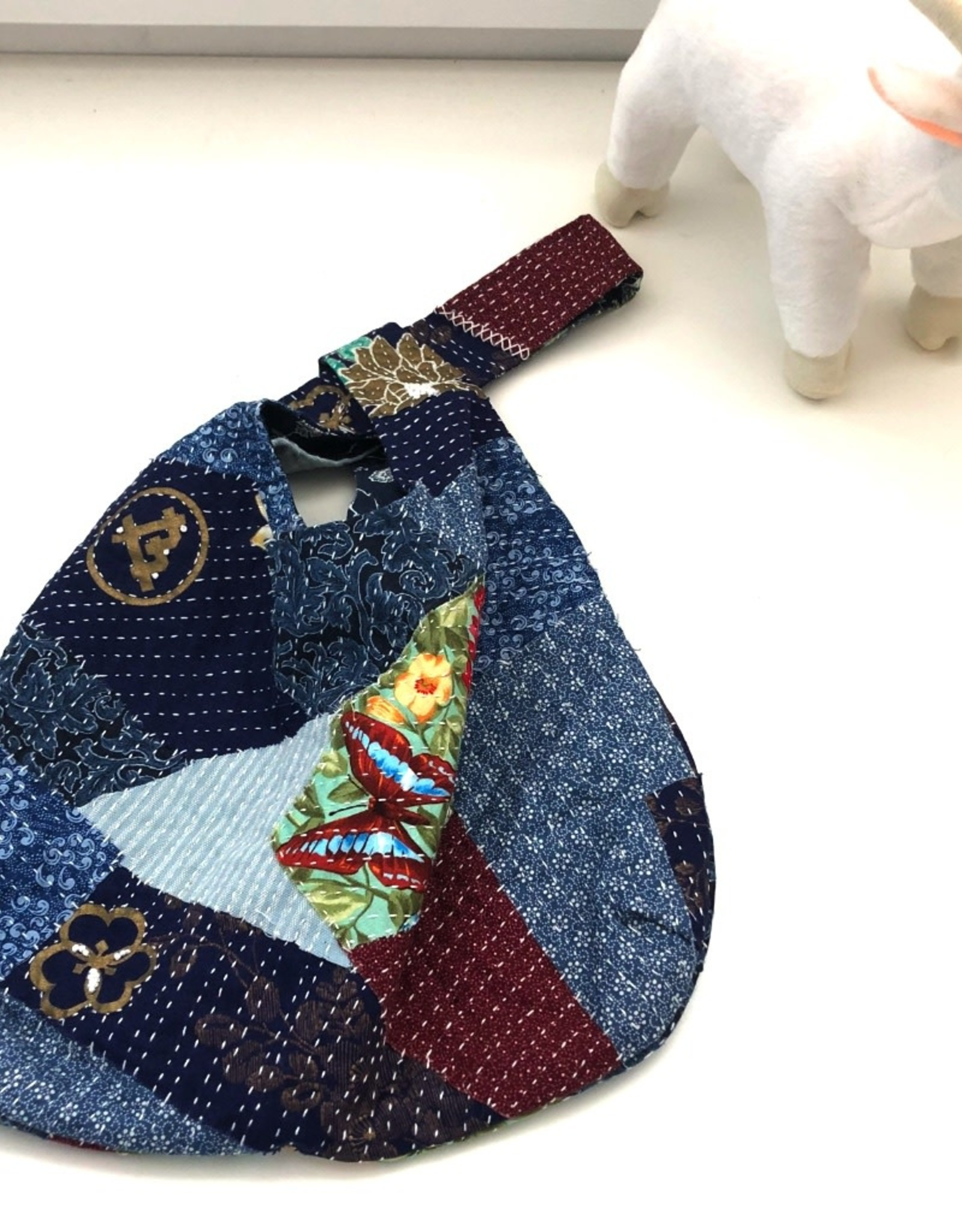 One of a Kind Slip Knot Bag