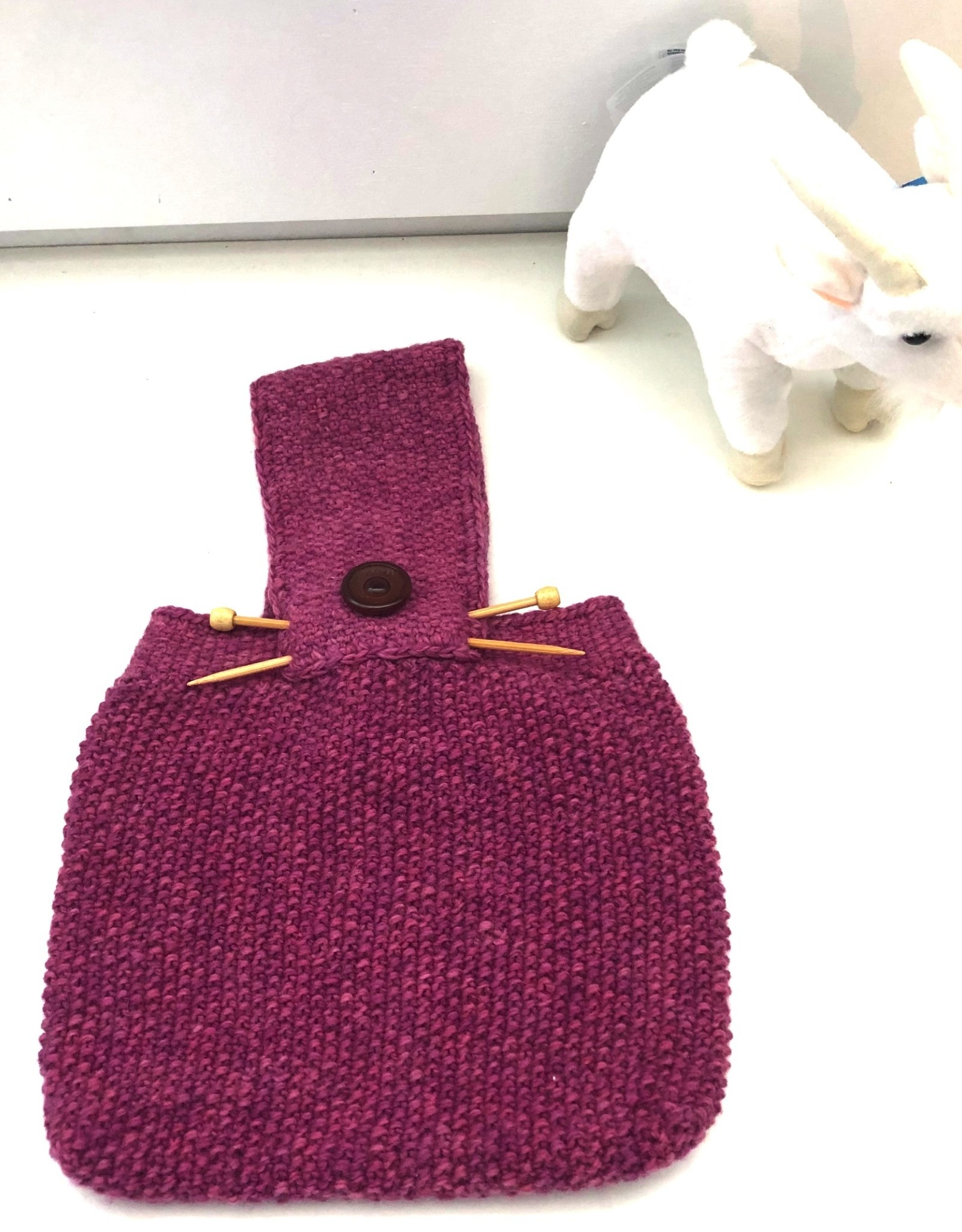 One of a Kind Knitting Needles Bag