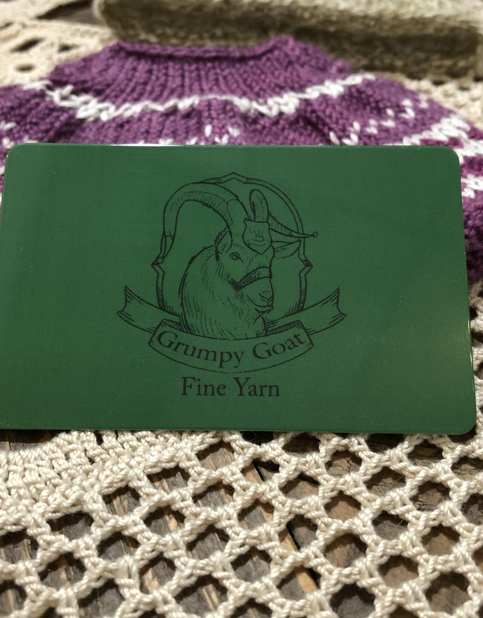 Grumpy Goat Gift Card
