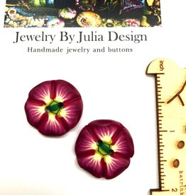 Jewelry by Julia Design Flower Buttons