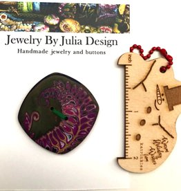 Jewelry by Julia Design Square Button