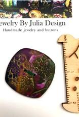 Jewelry by Julia Design Square Button