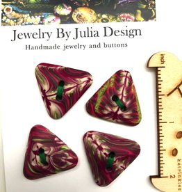 Jewelry by Julia Design Triangle Buttons