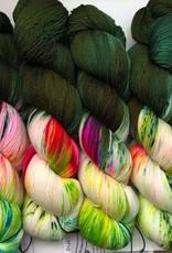 Whimsical Wood Yarn Pixie Toes Sock