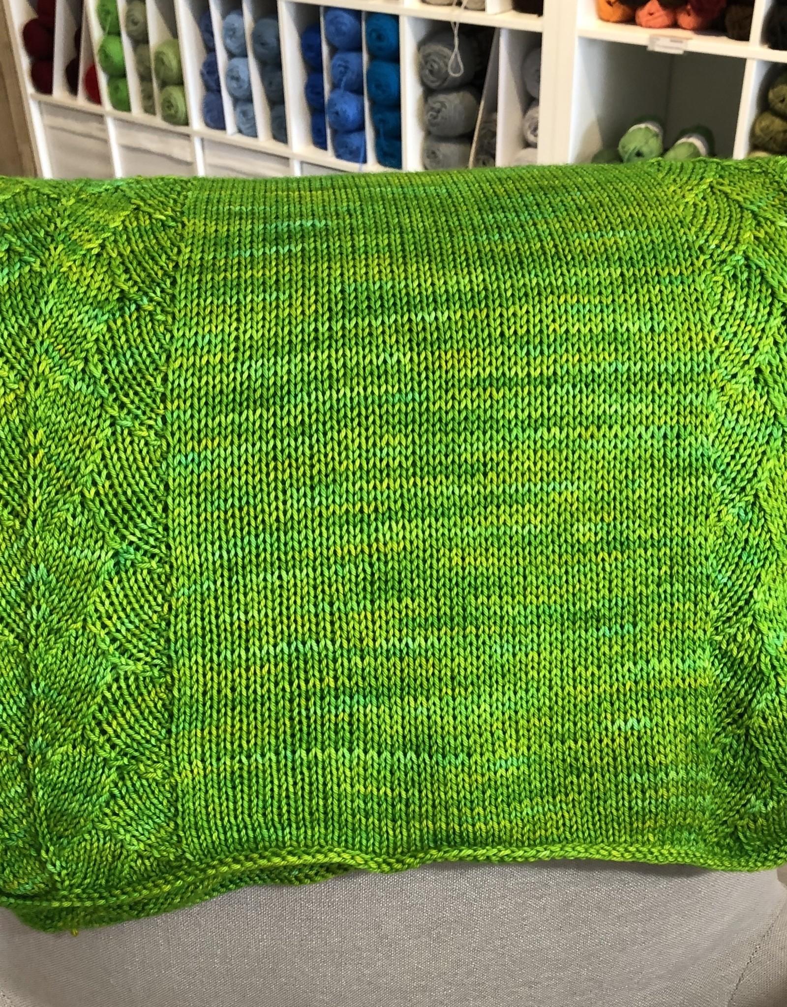 Susie Q Baby Leaf Blanket
