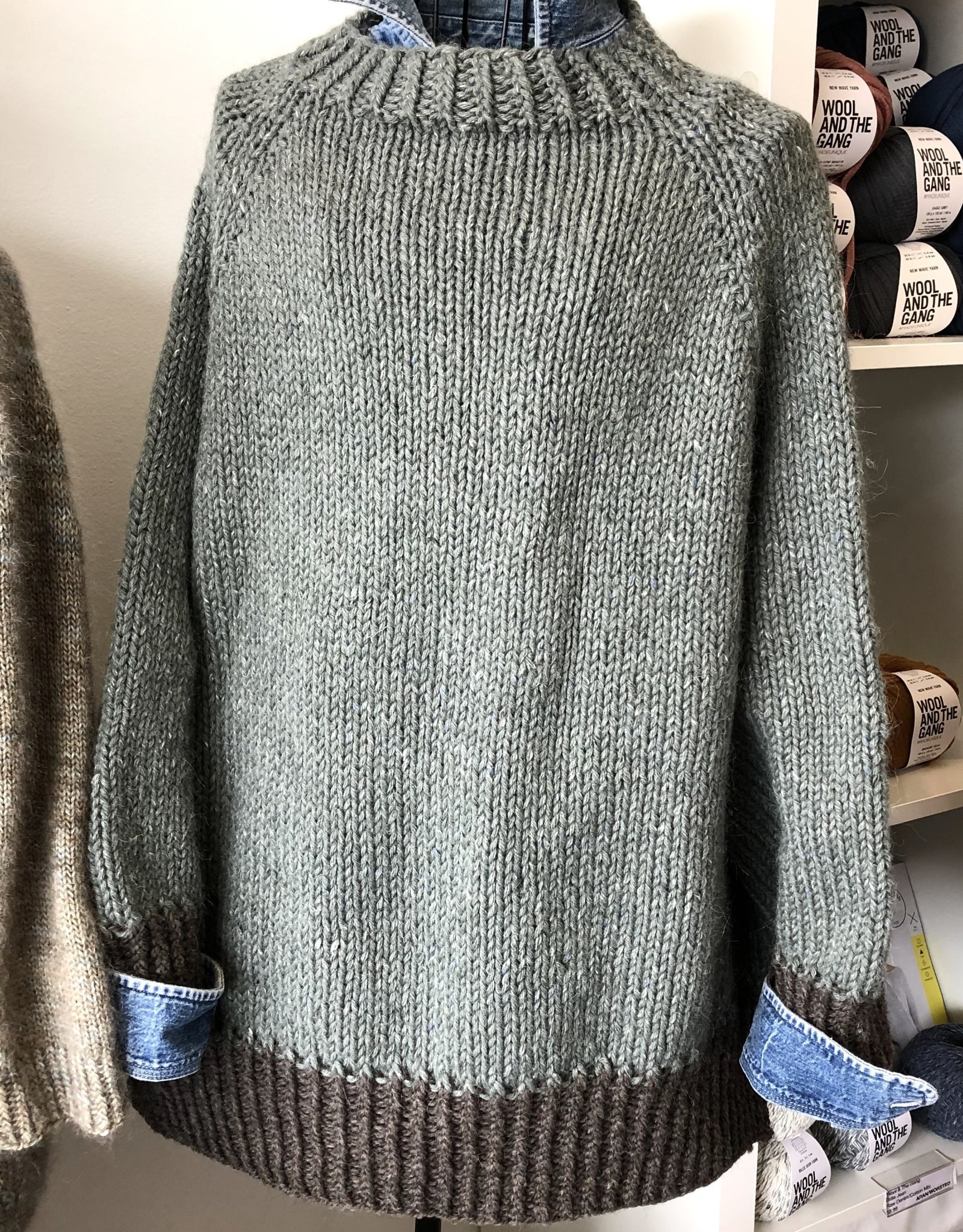 Susie Q Turtle Dove Sweater