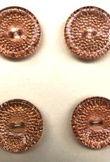 OOAK Vintage Buttons - Small Peach Buttons - 4 per card