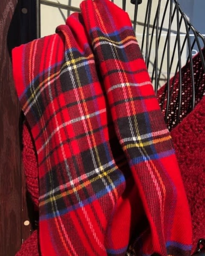Cabot Plaid Scarf