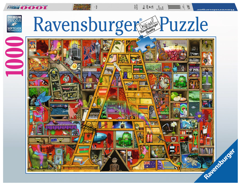 "Ravensburger RV1000 AWESOME ALPHABET ""A"""