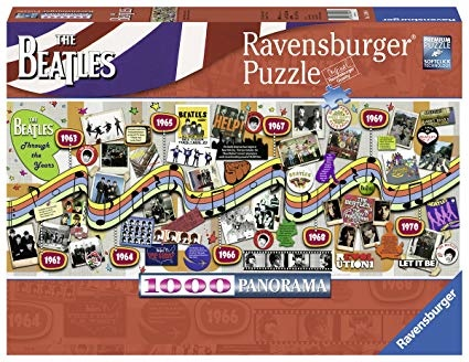 Ravensburger RV1000 BEATLES THROUGH YEARS