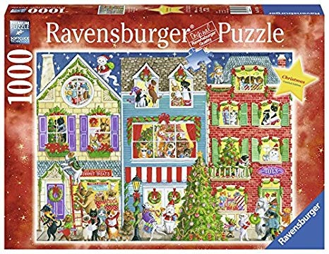 Ravensburger RV1000 CHRISTMAS ON PET STREET