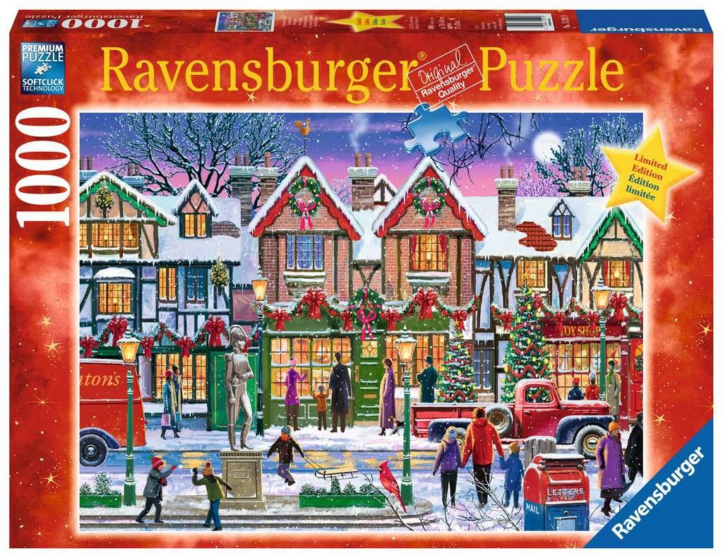 Ravensburger RV1000 CHRISTMAS IN THE SQUARE