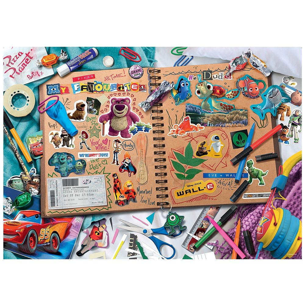 Ravensburger RV1000 DISNEY-PIXAR SCRAPBOOK