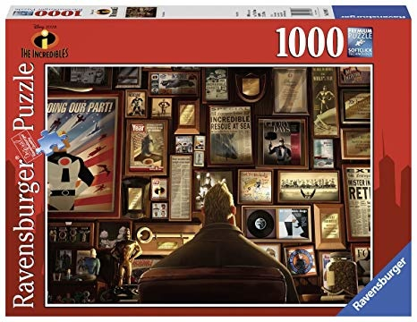 Ravensburger RV1000 DISNEY-PIXAR INCREDIBLE