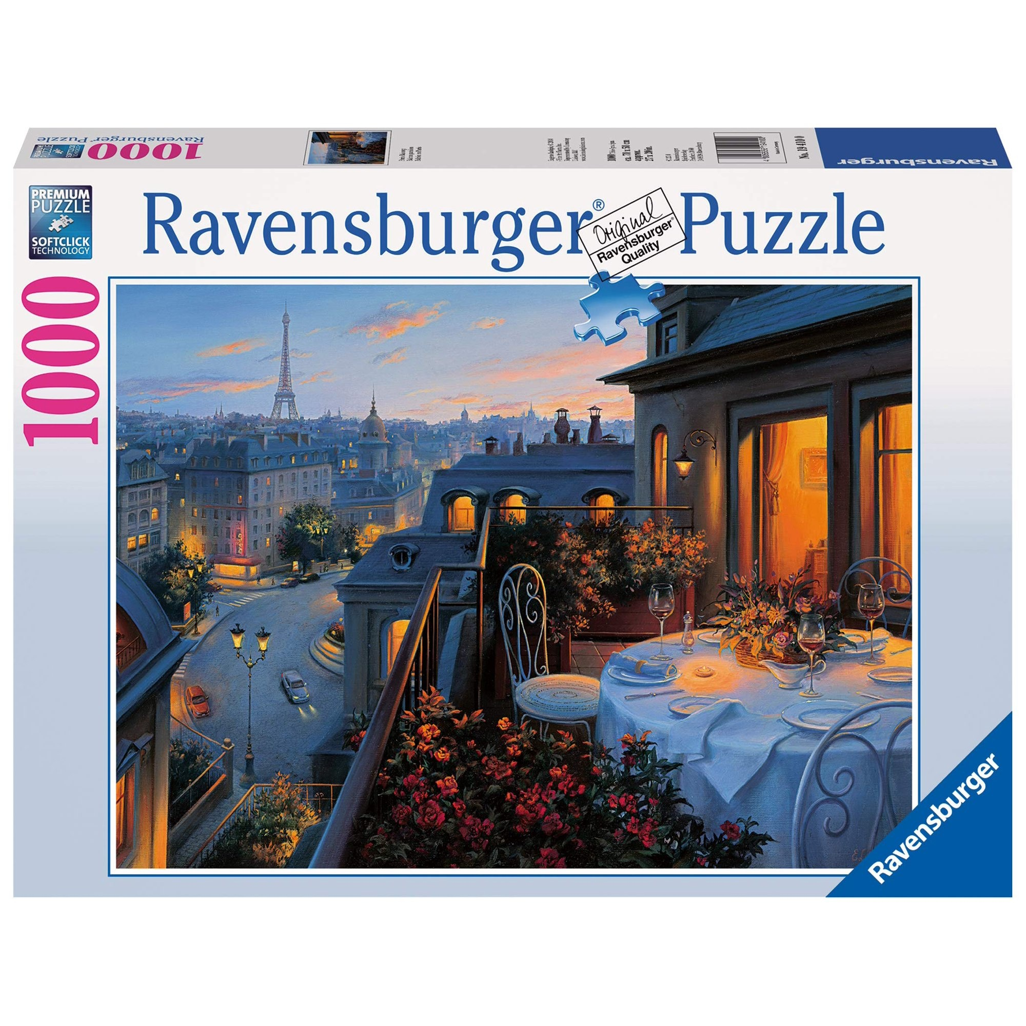 Ravensburger RV1000 PARIS BALCONY