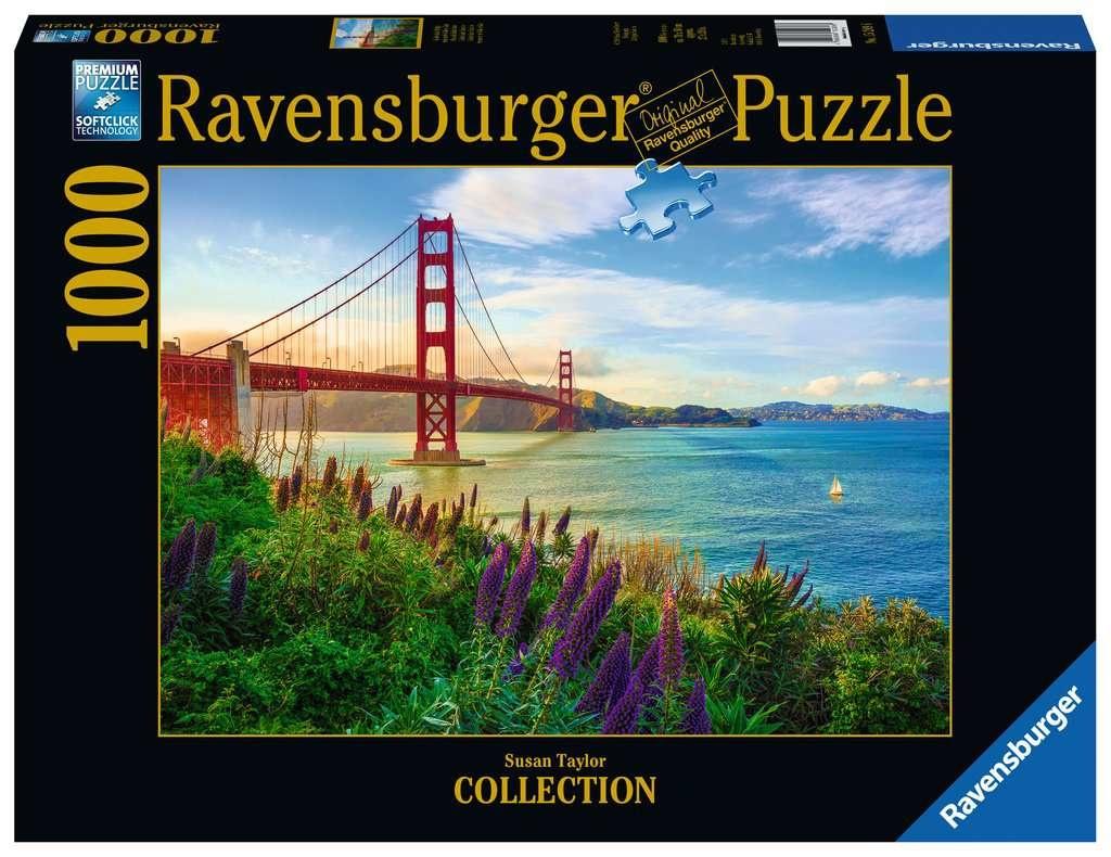 Ravensburger RV1000 GOLDEN GATE SUNRISE