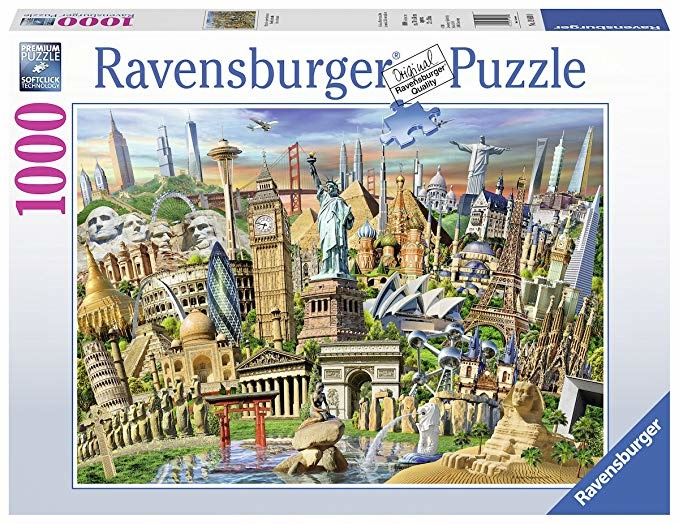Ravensburger RV1000 WORLD LANDMARKS