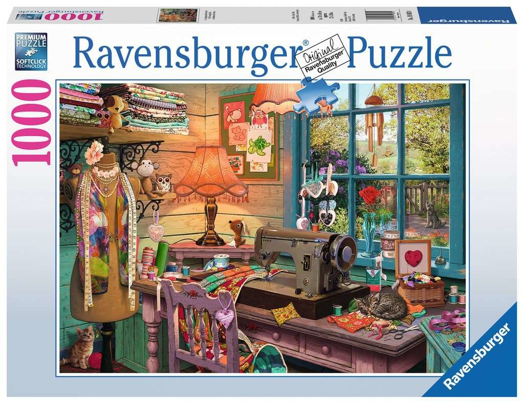 Ravensburger RV1000 THE SEWING SHED