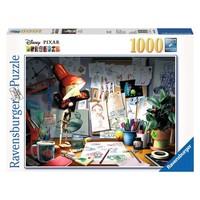 RV1000 DISNEY-PIXAR THE ARTIST'S DESK