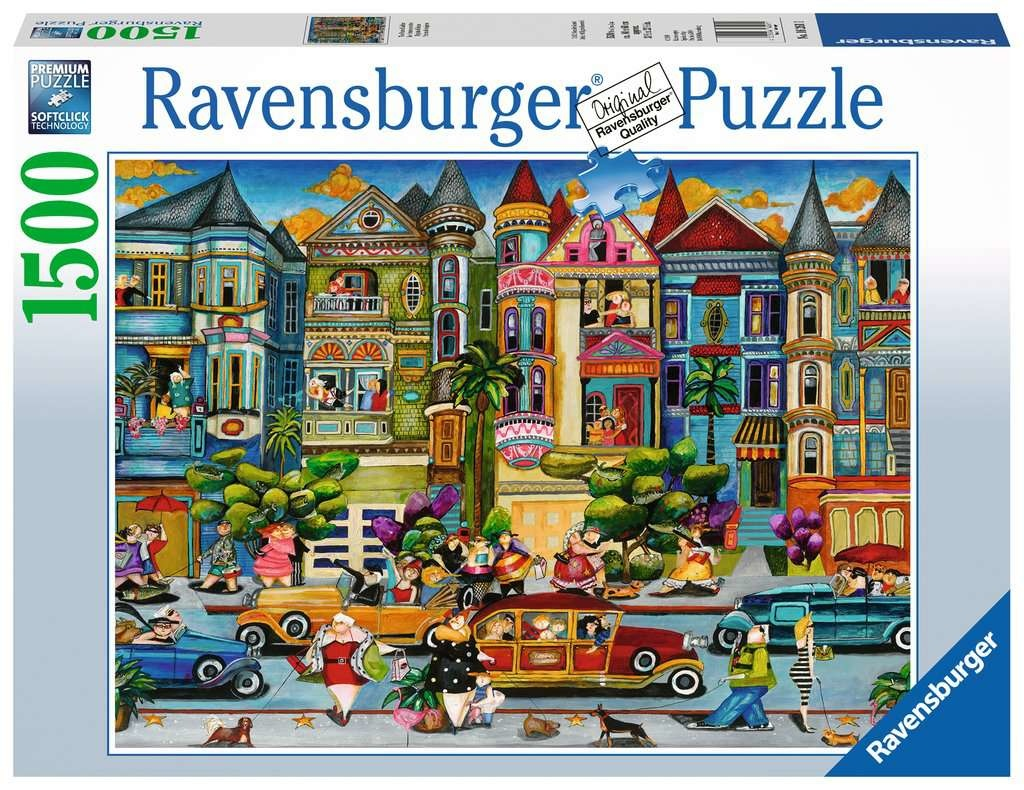 Ravensburger RV1500 THE PAINTED LADIES