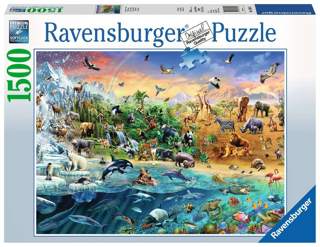 Ravensburger RV1500 OUR WILD WORLD