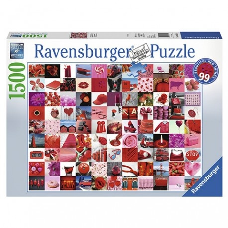 Ravensburger RV1500 99 BEAUTIFUL RED THINGS