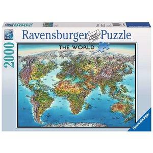 Ravensburger RV2000 WORLD MAP