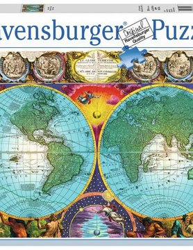 Ravensburger RV3000 ANTIQUE MAP