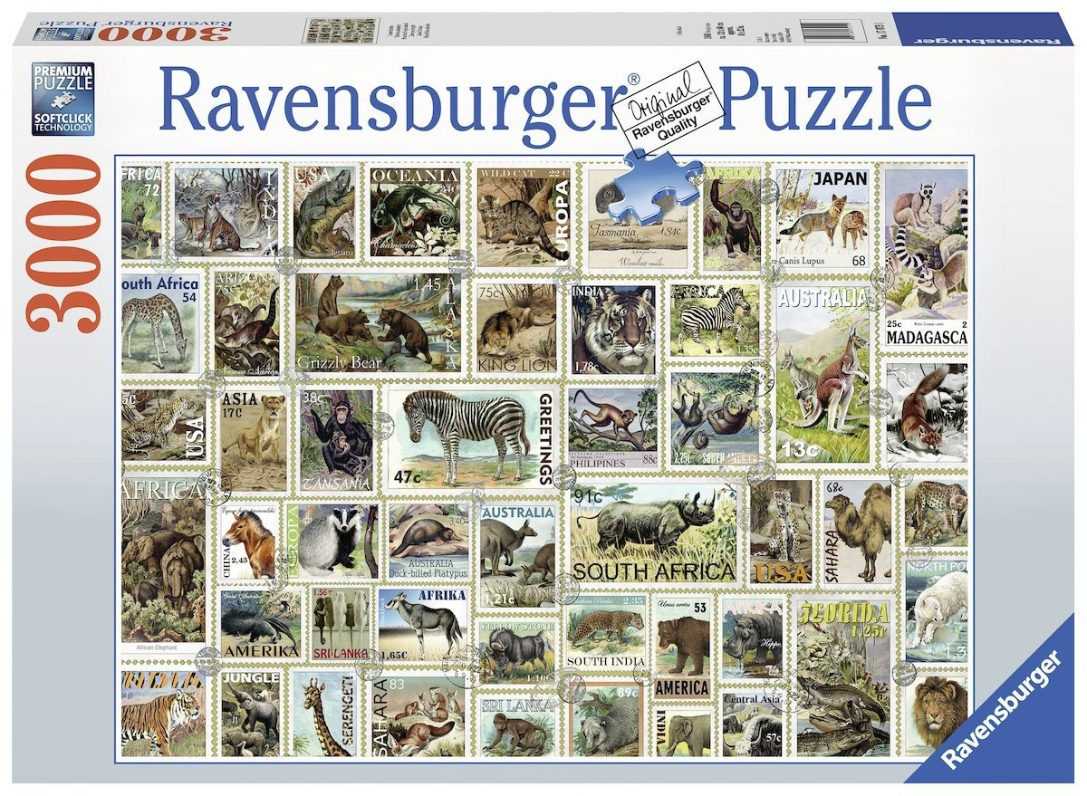 Ravensburger RV3000 ANIMAL STAMPS
