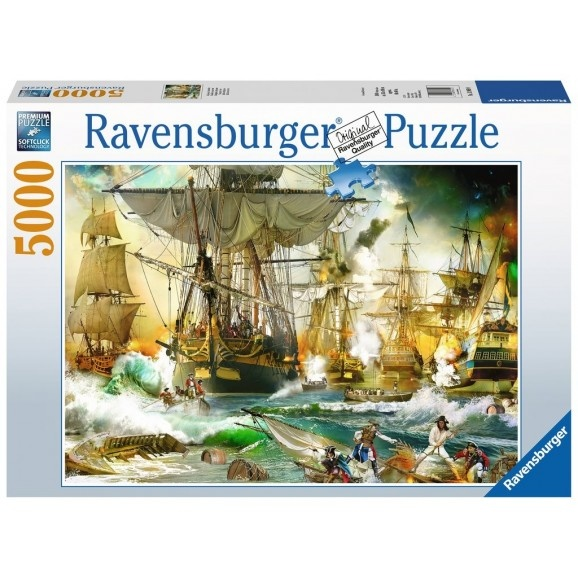 Ravensburger RV5000 BATTLE ON THE HIGH SEAS