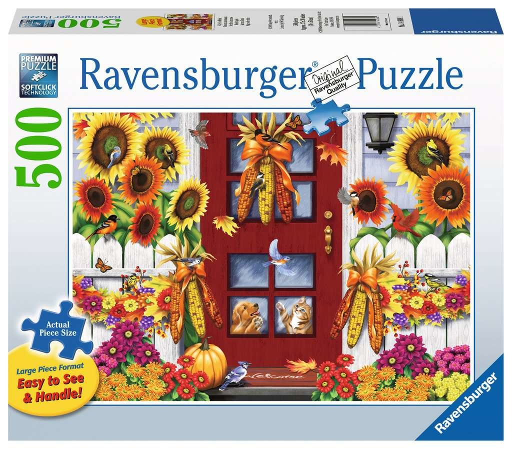 Ravensburger RV500(L) AUTUMN BIRDS