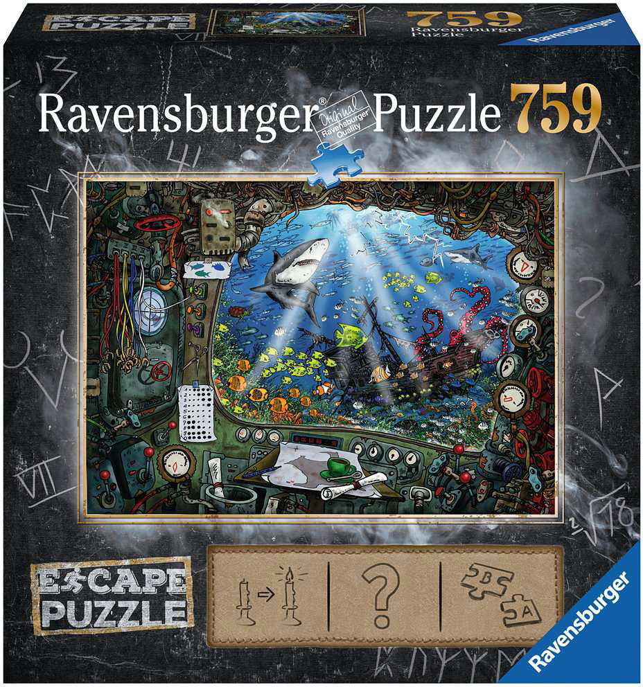 Ravensburger RV750(ESCAPE) SUBMARINE