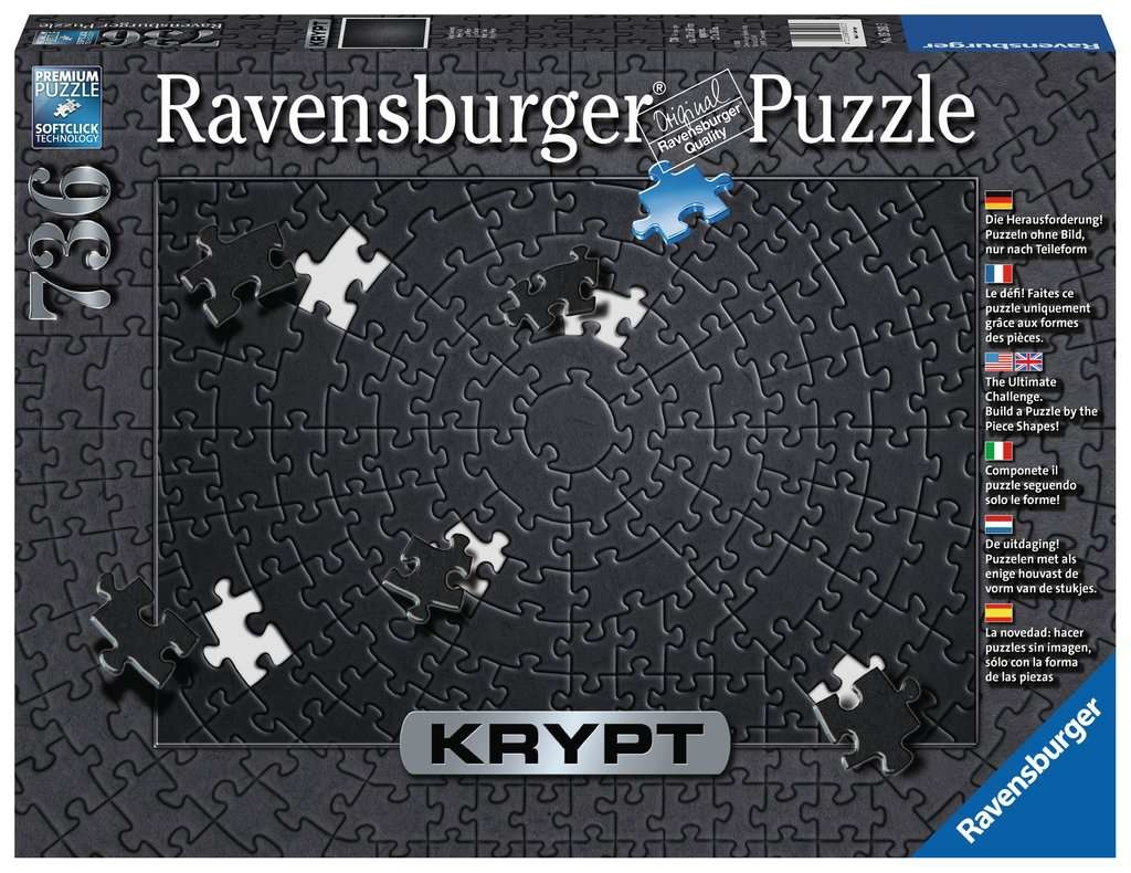 Ravensburger RV750 KRYPT BLACK