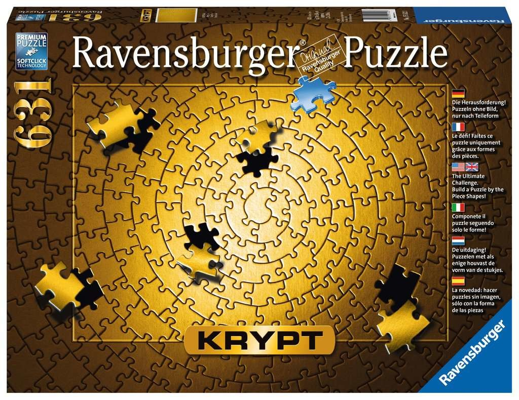 Ravensburger RV600 KRYPT GOLD