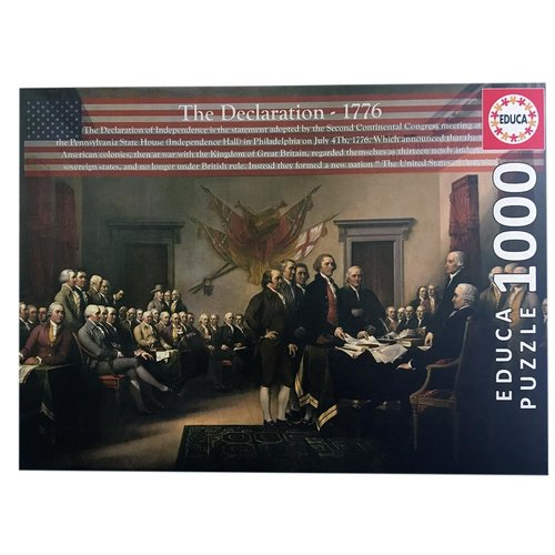 Educa ED1000 TRUMBULL - THE DECLARATION 1776