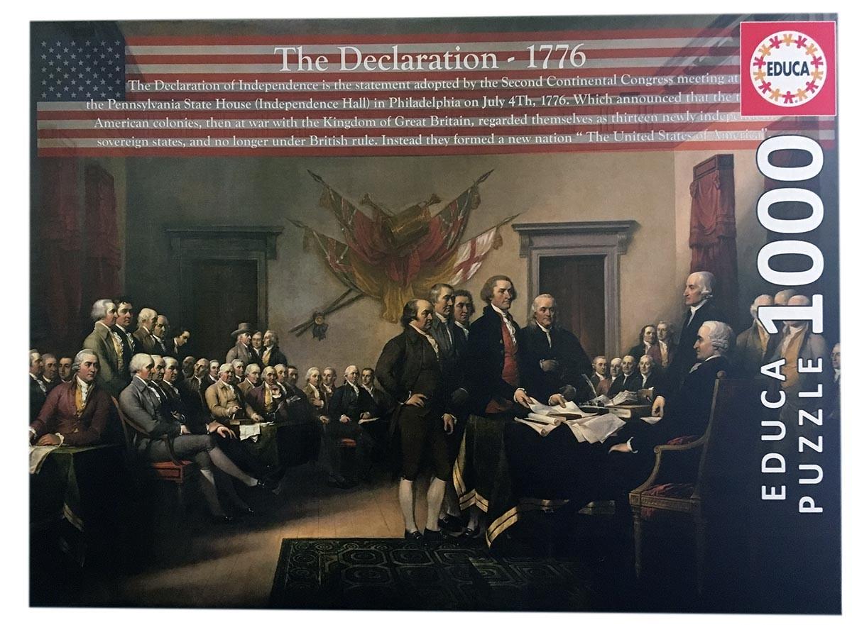 JOHN HANSEN COMPANY ED1000 THE DECLARATION 1776