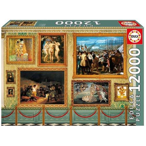 Educa ED12000 MUSEUM MASTER PIECES