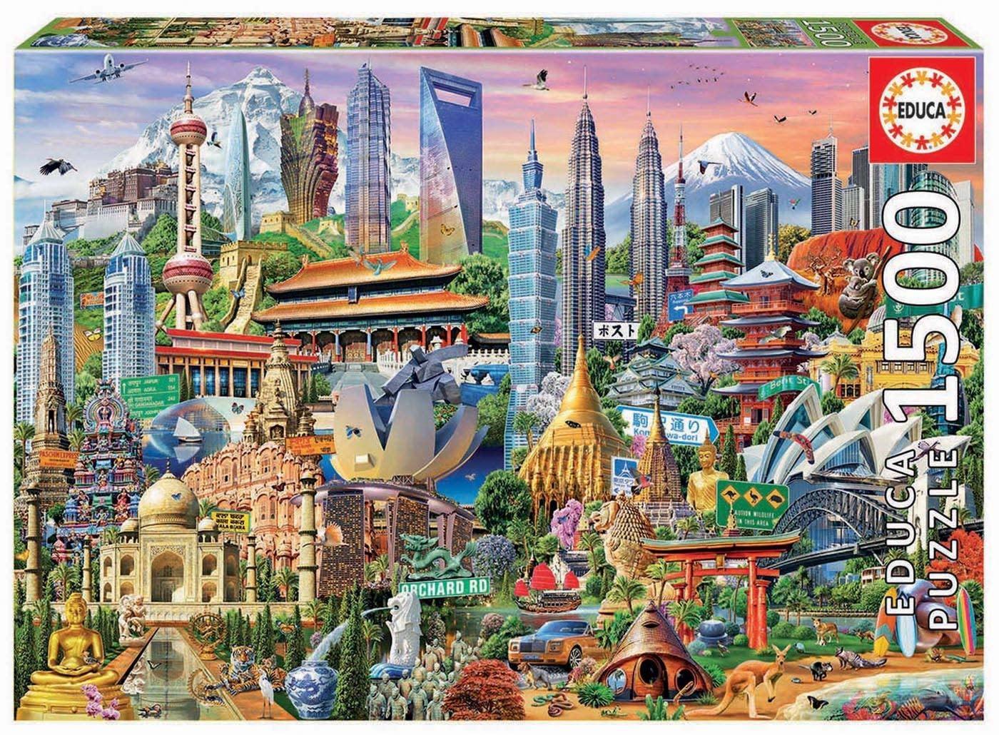 JOHN HANSEN COMPANY ED1500 ASIA LANDMARKS