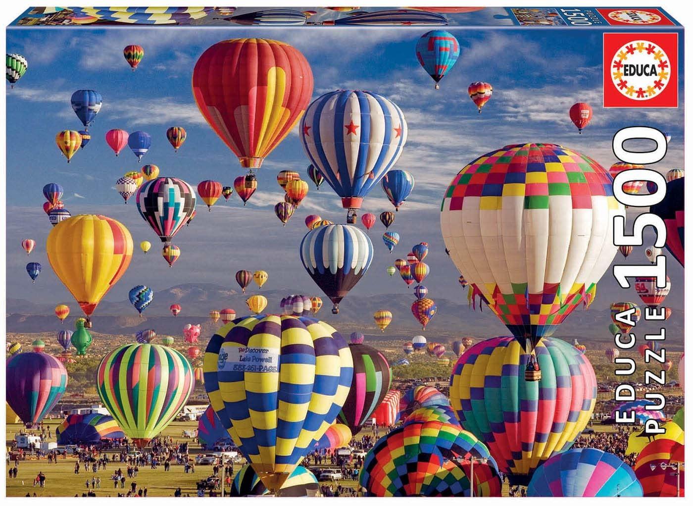 JOHN HANSEN COMPANY ED1500 HOT AIR BALLOONS