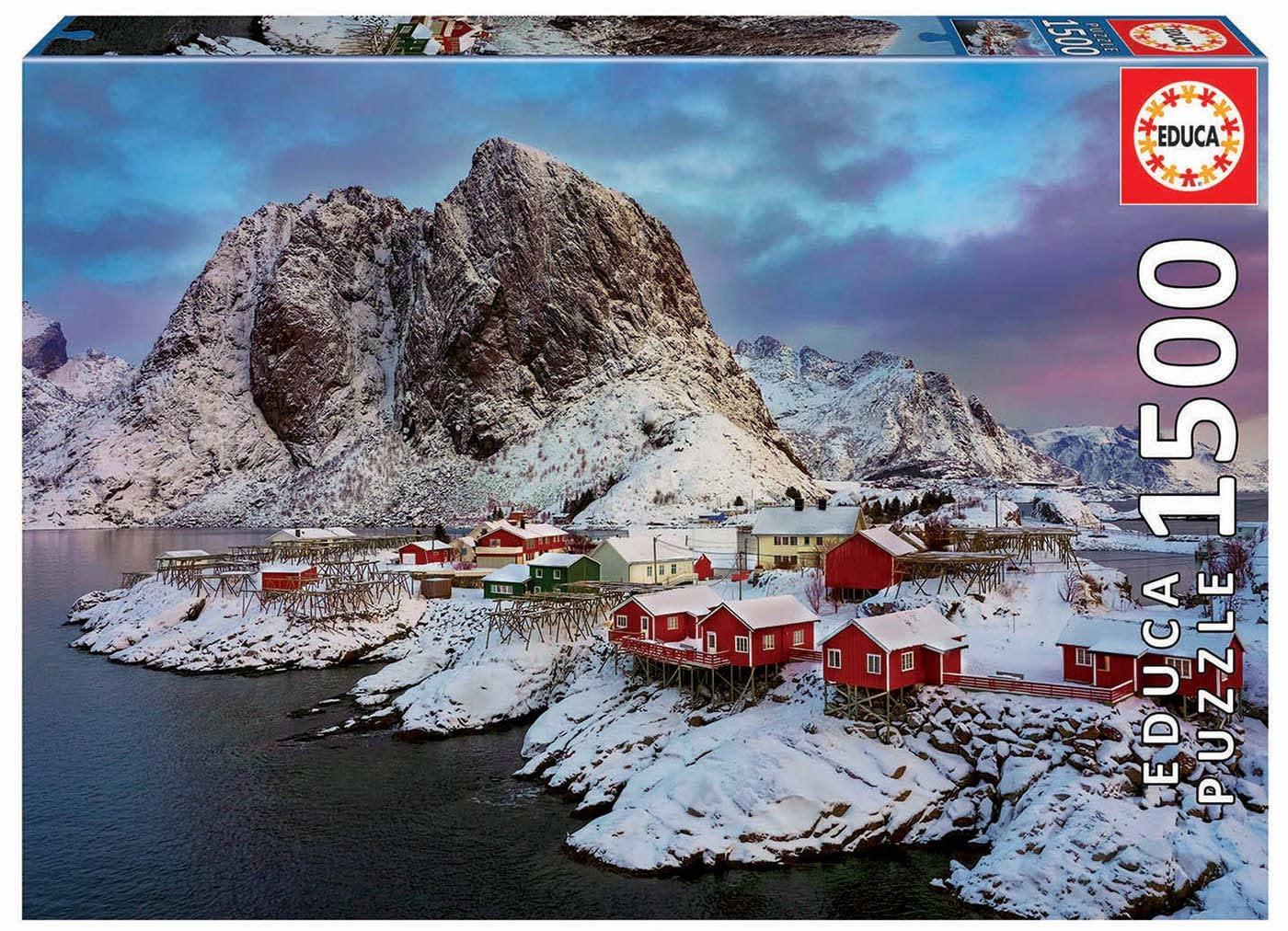 JOHN HANSEN COMPANY ED1500 LOFOTEN ISLANDS NORWAY
