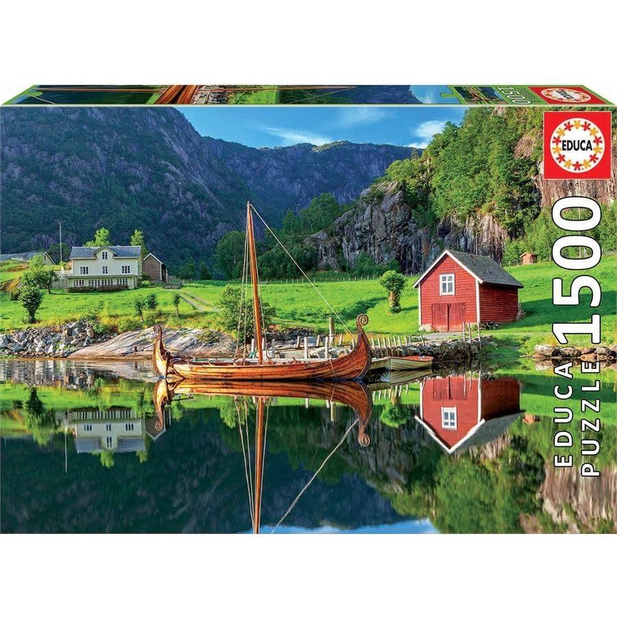JOHN HANSEN COMPANY ED1500 VIKING SHIP