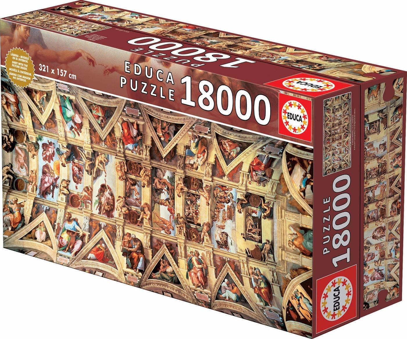 JOHN HANSEN COMPANY ED18000 SISTINE CHAPEL